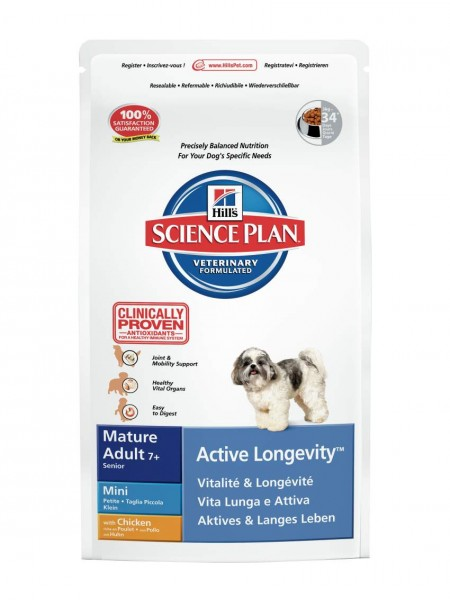 Canine Mature Adult Active Longevity Mini Huhn (Hund)