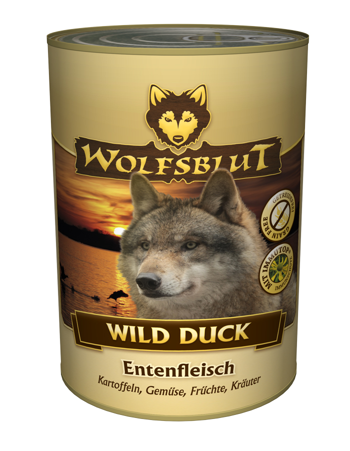 wolfsblut wild duck hundefutter kaufen md pet food. Black Bedroom Furniture Sets. Home Design Ideas