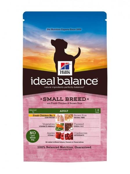 Ideal Balance™ Canine Adult Small Breed Huhn & Brauner Reis (Hund)