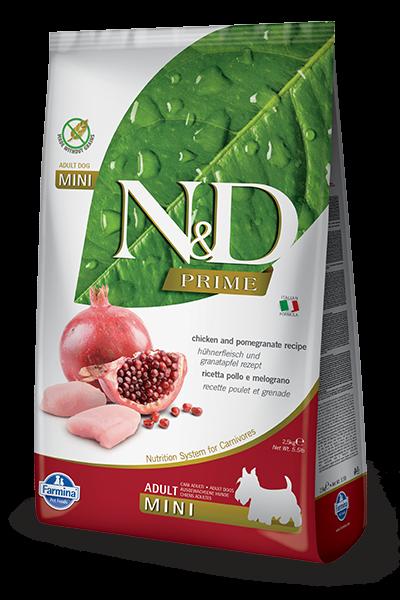 N&D Grain Free Adult Mini Chicken & Pomegranate (Hund)