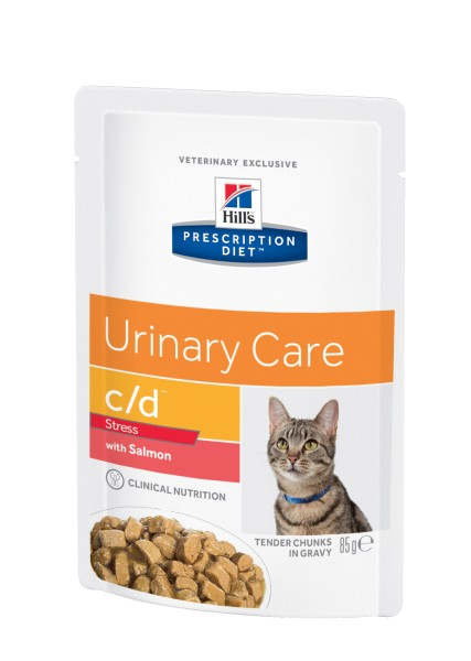Feline c/d Urinary Stress Lachs (Katze)