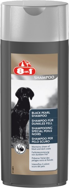 8in1 Shampoo für dunkles Fell