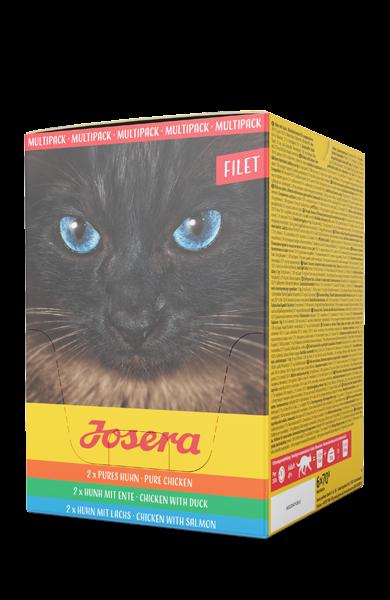 Josera Multipack Filet 6x70g Frischebeutel (Katze)