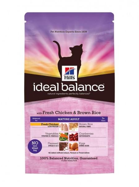 Ideal Balance™ Feline Mature Adult Huhn & Brauner Reis (Katze)