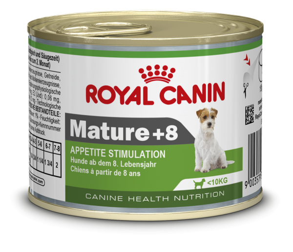 Mini Mature +8 195g (Hund)