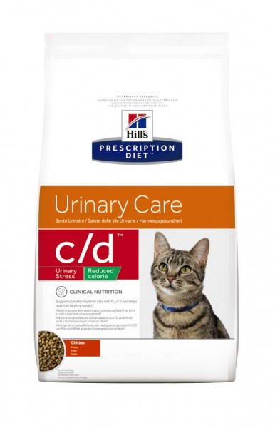 Feline c/d Multicare Urinary Stress Reduced Calorie (Katze)