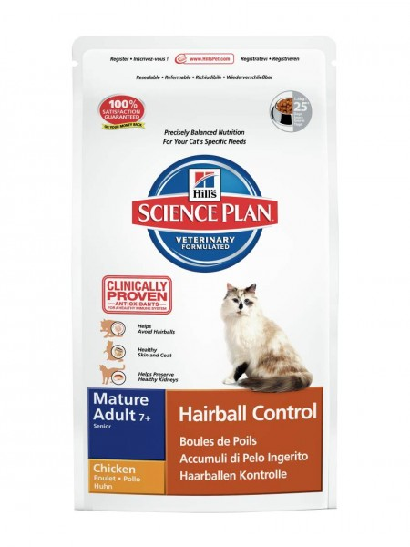 Feline Mature Adult Senior Hairball Control (Katze)
