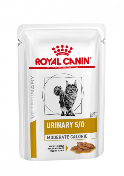 Urinary S/O Moderate Calorie Morsels in Gravy (Frischebeutel) (Katze)