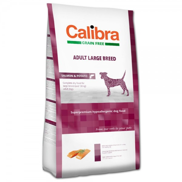 Calibra Adult Large Breed Salmon