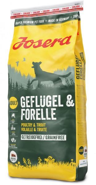 Josera Geflügel & Forelle (Hund)