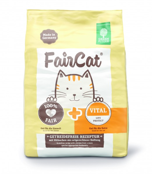 Green Petfood FairCat Vital Katzentrockenfutter günstig kaufen