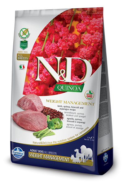 N&D Grain Free Adult Quinoa Weight Management Lamb (Hund)