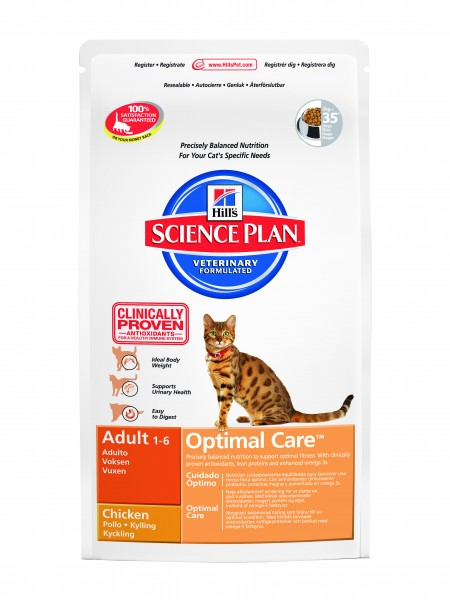 Feline Adult Optimal Care Huhn (Katze)