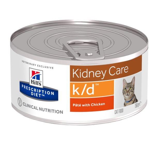 Feline k/d feingehackt Huhn (Katze)