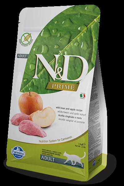 N&D Grain Free Adult Boar & Apple (Katze)