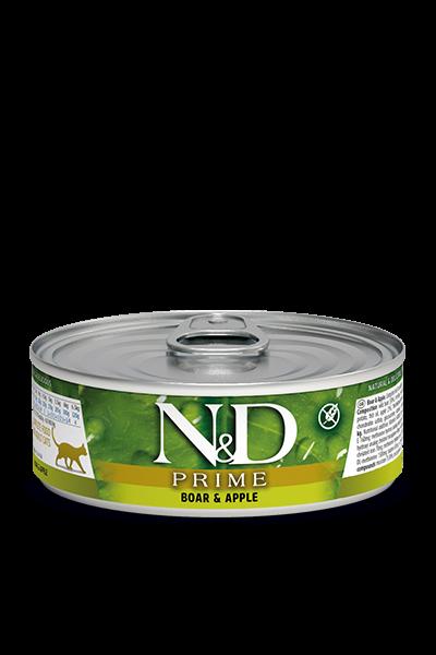 N&D Prime Adult - Wildschwein & Apfel (Katze)