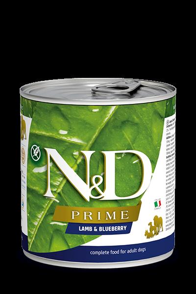 N&D Prime Adult - Lamm & Heidelbeere (Hund)