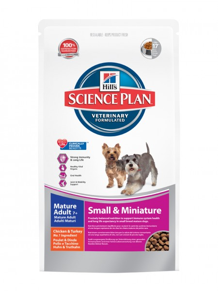 Canine Mature Adult Small & Miniatures (Hund)