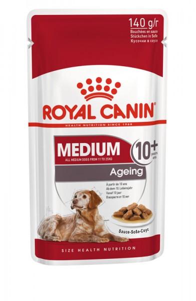 Medium Ageing 10+ in Soße Frischebeutel (Hund)