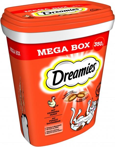 Dreamies Mega Box Huhn Katzensnack 350g günstig kaufen