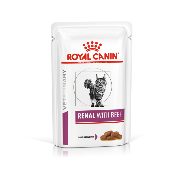 Renal Beef (Beutel) (Katze)