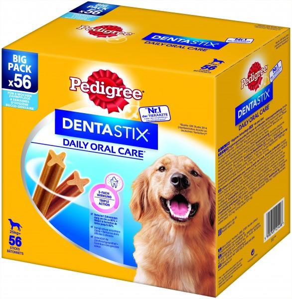 Pedigree Dentastix tägliche Zahnpflege Bigpack 56 Stk. Hunde Zahnpflege günstig kaufen