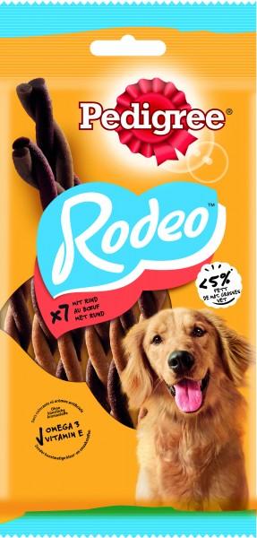 Pedigree Rodeo Rind 7 Stück Kaustangen Hund günstig kaufen