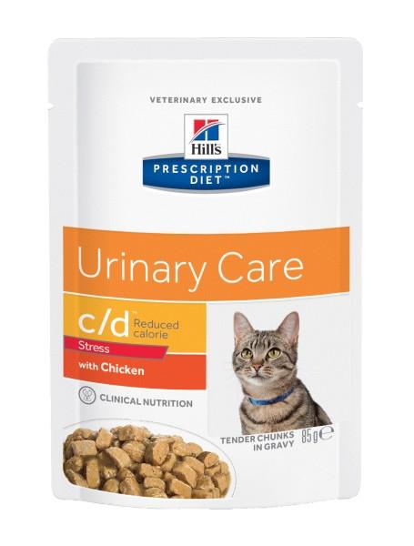 Feline c/d Multicare Urinary Stress Reduced Calorie (Katze)