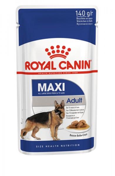 Maxi Adult in Soße Frischebeutel (Hund)