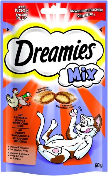 Dreamies Mix mit Huhn & Ente Katzensnack günstig kaufen