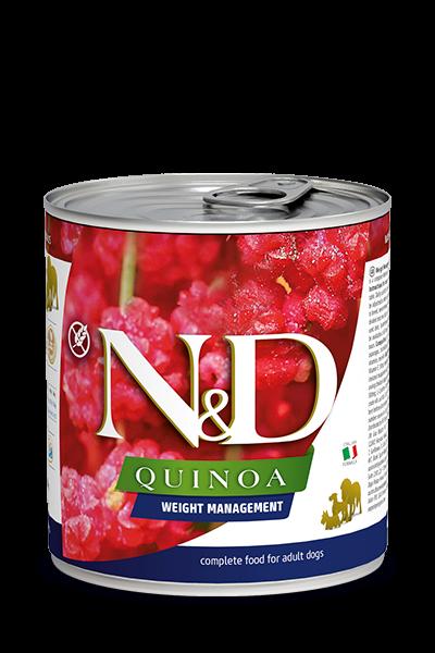 N&D Quinoa Weight Management (Hund)
