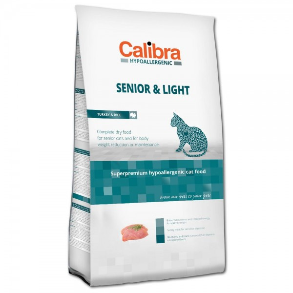 Calibra Hypoallergenic Senior & Light Turkey & Rice