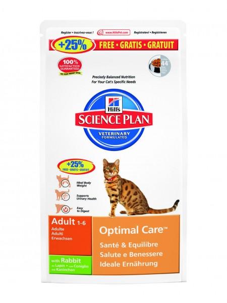 Feline Adult Optimal Care Kaninchen (Katze)