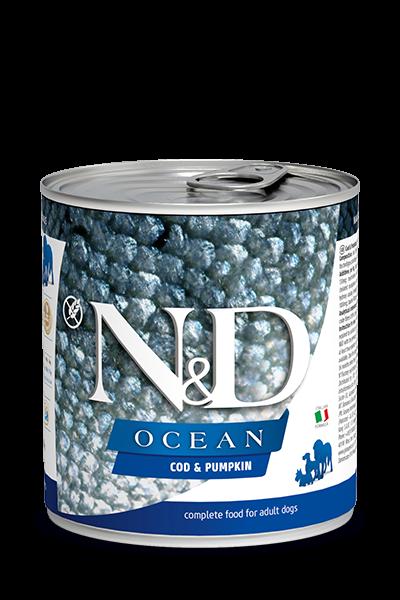 N&D Ocean Adult - Kabeljau & Kürbis (Hund)