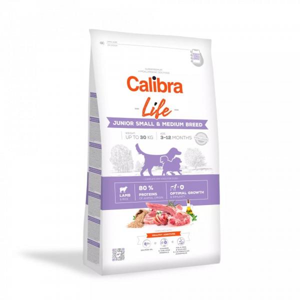 Calibra Life Junior Small & Medium Breed Lamb (Hund)