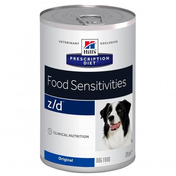 Hill's Canine z/d Food Sensitivities Dose 370g Hundefutter