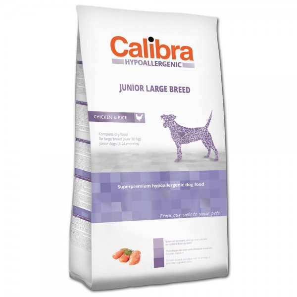 Calibra Junior Large Breed Chicken & Rice
