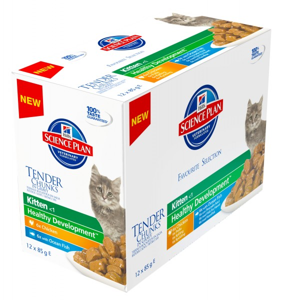 Feline Kitten Healthy Development Multipack Huhn und Seefisch (Katze)