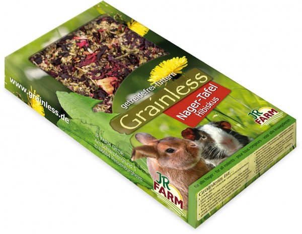 JR Grainless Nager-Tafel Hibiskus