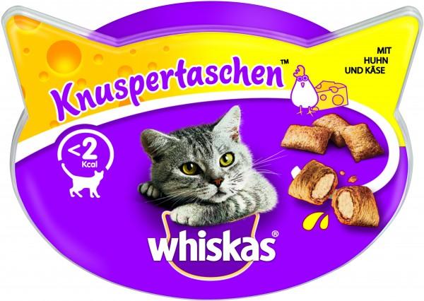 Whiskas Knuspertaschen mit Huhn & Käse Katzensnack günstig kaufen