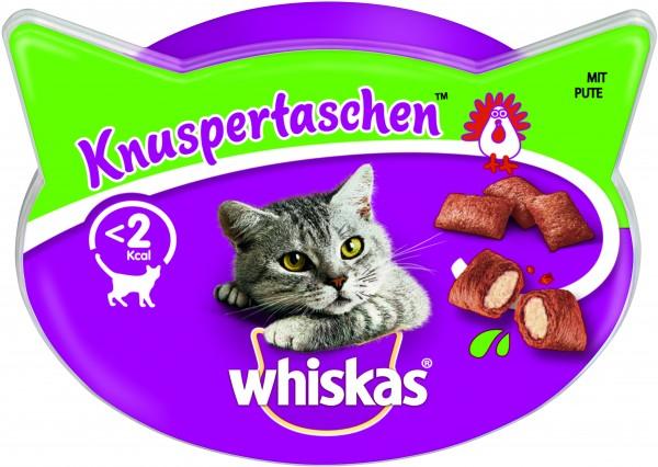 Whiskas Knuspertaschen mit Pute Katzensnack günstig kaufen