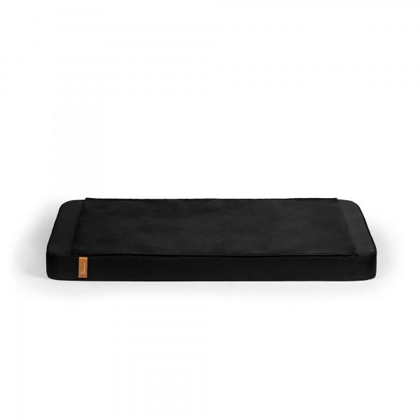 Zip Zap Hunde- & Katzenbett mit passender Zip Decke Schwarz