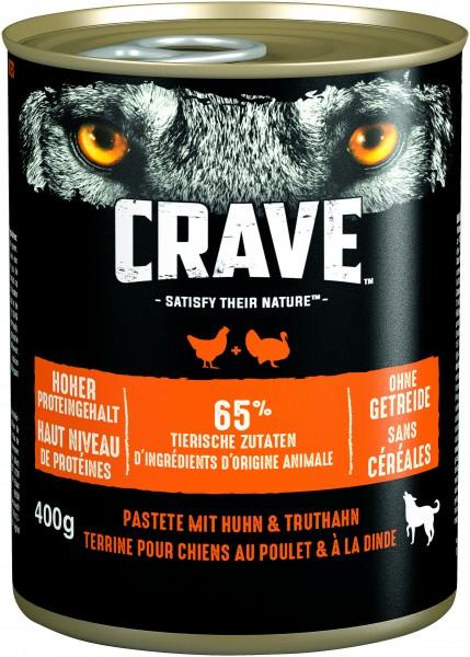 Crave Pastete mit Huhn & Truthahn Dose (Hund)