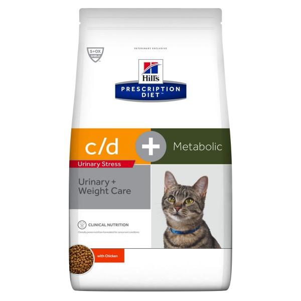 c/d Urinary Stress + Metabolic mit Huhn (Katze)