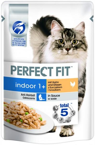 Perfect Fit Indoor 1+ mit Huhn und Erbsen in Sauce 85g günstig kaufen