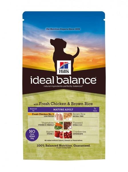 Ideal Balance™ Canine Mature Adult Huhn & Brauner Reis (Hund)