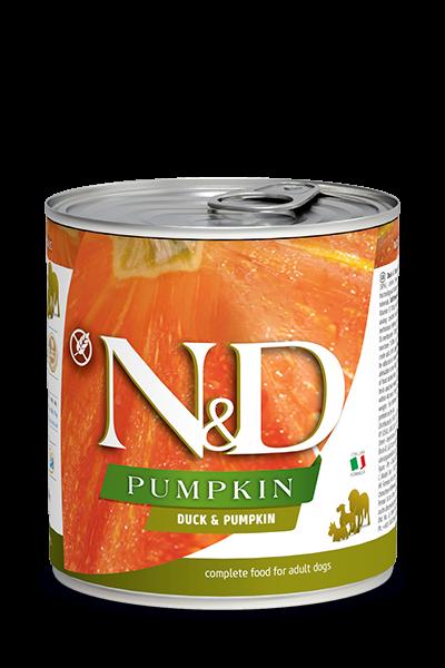 N&D Pumpink Adult - Ente & Kürbis (Hund)