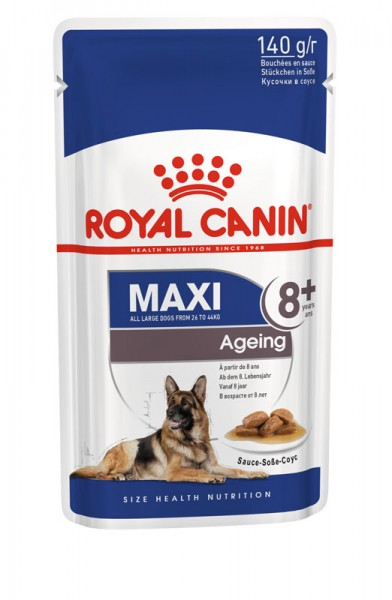 Maxi Ageing 8+ in Soße Frischebeutel (Hund)