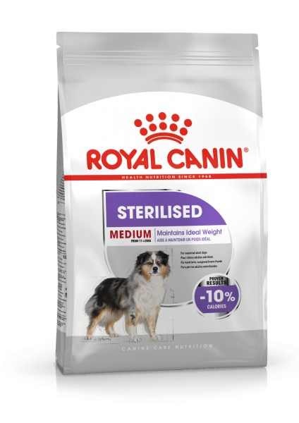 Medium Sterilised (Hund)