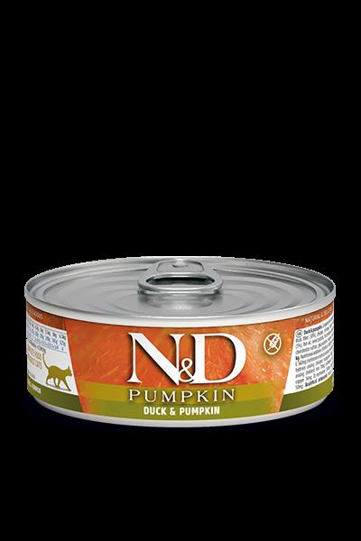 N&D Pumpink Adult - Ente & Kürbis (Katze)